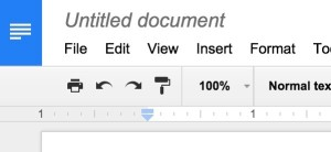 Google Docs new document creation explained